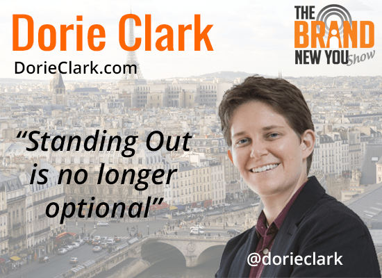 Dorie Clark Author Stand Out