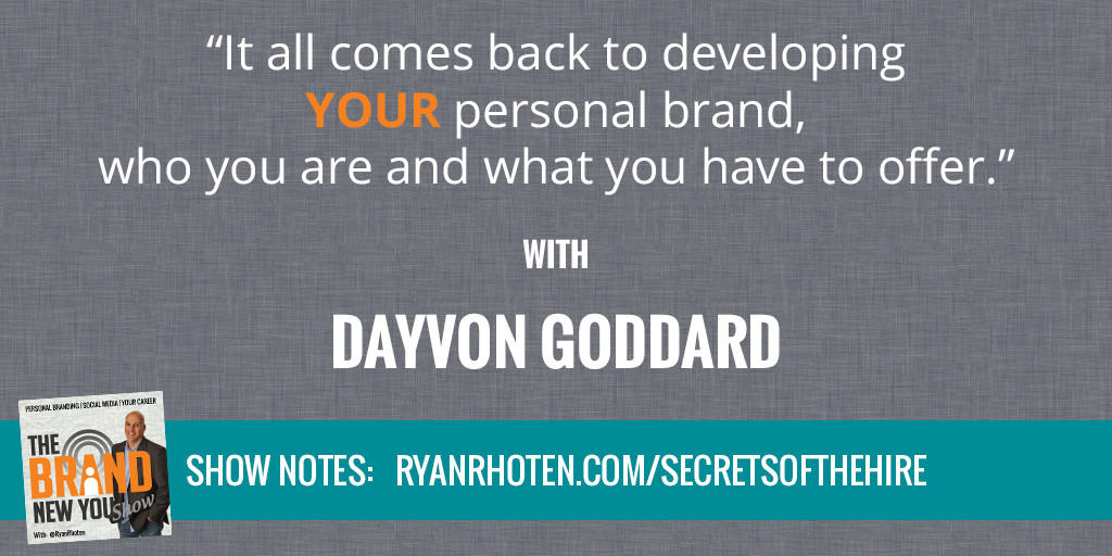 Dayvon Goddard Secrets Of The Hire