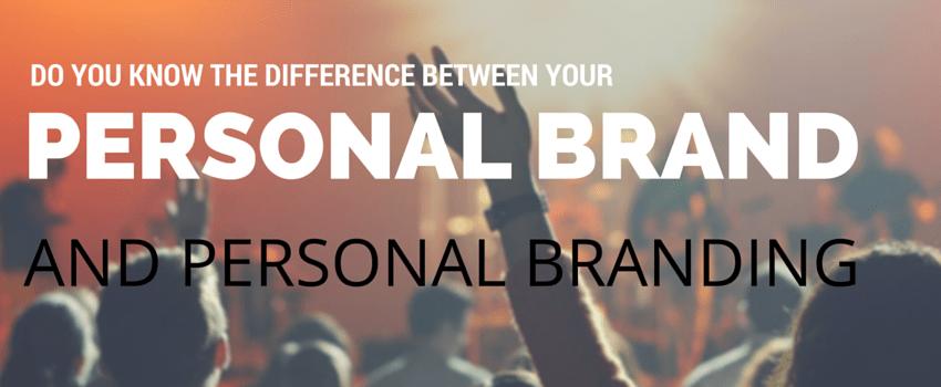 Personal brand vs personal branding