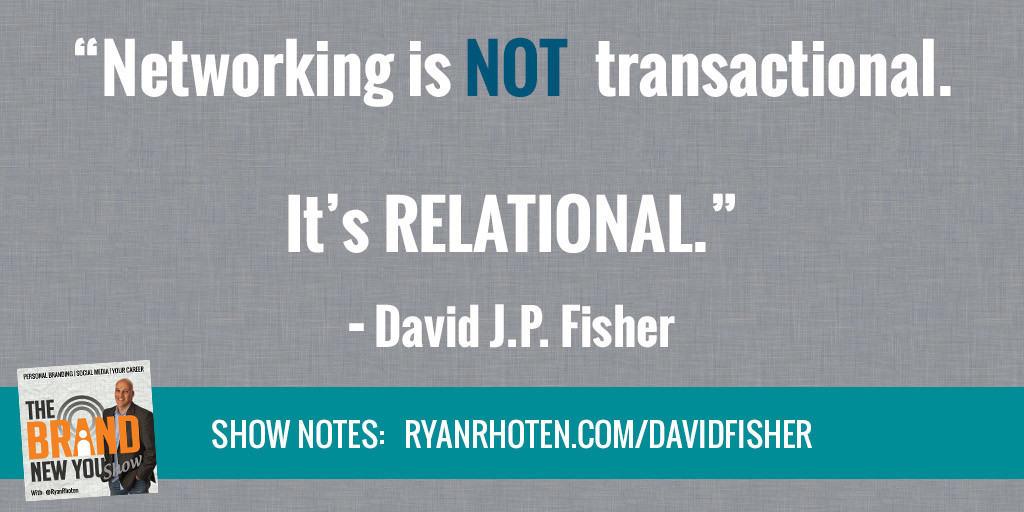 David Fisher Networking