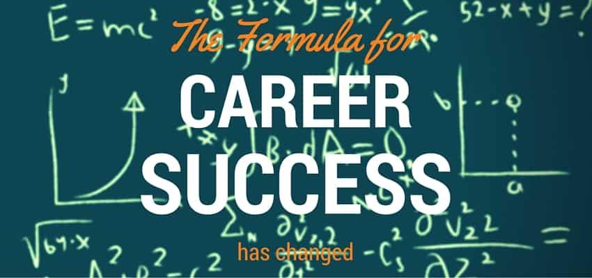 The Formula for Career Success