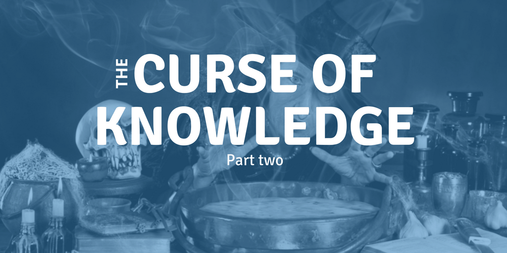 Recognizing the Curse of Knowledge