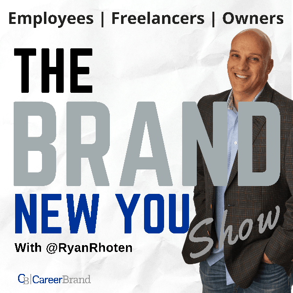 The Brand New You show Podcast Cover Art